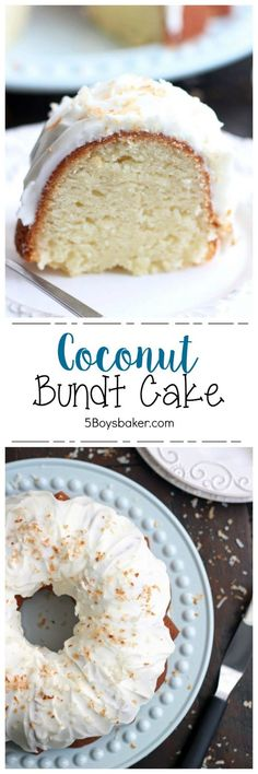 Incredibly moist, dense, and unbelievably good, this Coconut Bundt Cake is out of this world good and will completely knock your socks off. This is the best coconut cake I've ever eaten! Coconut Recipes, Baking Recipes, Cake Recipes, Dessert Recipes, Coconut Cakes, Coconut Desserts, Kraft Recipes, Coconut Ideas, Lemon Cakes