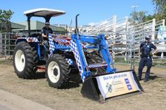 Trev the Tractor at Beef Week in Rockhampton - QLD Police Stock Squad 2015 Police Vehicles, Police Cars, Tractors, Squad, Beef, Meat, Ox, Classroom, Steaks