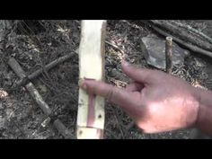 Making a Primitive Crossbow for Survival http://rethinksurvival.com/how-to-make-a-primitive-crossbow-video/