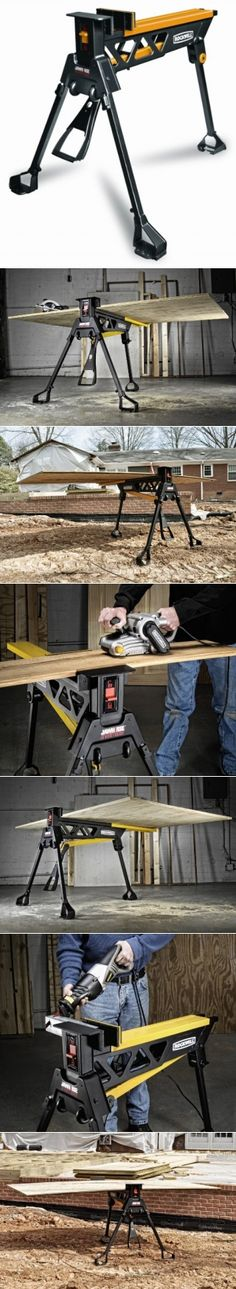 Rockwell RK9002 JawHorse Sheetmaster Hold And Clamp 48-inch Plywood Sheets