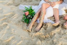 Barefoot  Beach Bohemian Wedding by Anina Harmse | SouthBound Bride