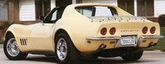 1968 Corvette car - the first of a new generation after the 63 thru 67 models