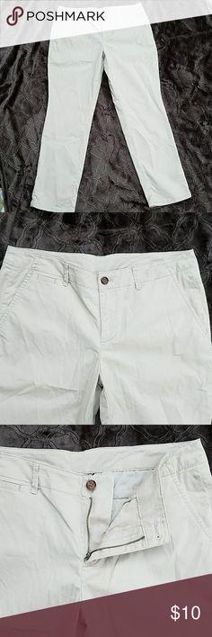 Victoria's Secret khaki pants Victoria's Secret Khaki pants Inseam 30 Rise 9 inches Victoria's Secret Pants Straight Leg