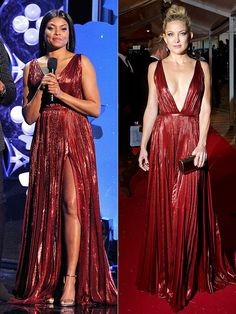 Fashion Faceoff: Taraji P. Henson vs. Kate Hudson in J. Mendel and more!