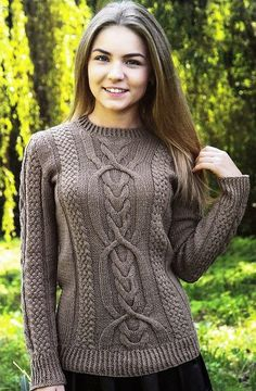 Пуловер с красивыми фантазийными узорами. Обсуждение на LiveInternet - Российский Сервис Онлайн-Дневников