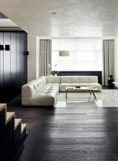 here are our favorite Minimalist Apartment Design. Find ideas and inspiration for Minimalist Apartment Design to add to your own home. Living Room White, White Rooms, Living Room Interior, Leather Living Room Furniture, Home Furniture, Furniture Design, Vintage Furniture, Minimalist Apartment, Minimalist Living