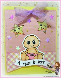Shaker card, The Scrappin Rabbit Craftin Deset Diva's stamps