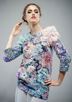 Hand and Lock Embroidery, 3rd Prize – Stephanie Cristofaro
