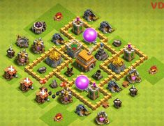 Clash of clan or COC Bases: As all know that coc is a very popular game and in this game, the town hall is the heart of the game to protect your gold and elixir from the opponent attack you need a better and powerful base. Clash Of Clans 5, Clash Of Clans Android, Free Mobile Games, Free Games, Town Hall 4, Trophy Base, Th 5, Geek Stuff, War