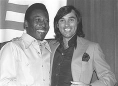George Best and Pele