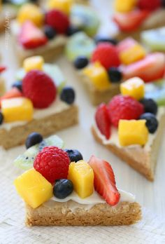 Fruit Pizza #healthy #food