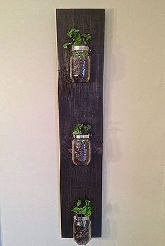 create a custom indoor herb garden design from mason jars, diy, gardening, how to, Use Mason Jars to build a custom indoor herb garden