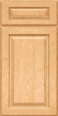 KraftMaid Cabinets -Square Raised Panel - Solid (MTM) Maple in Honey Spice from waybuild
