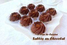 sablés au chocolat fan