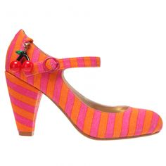"""""""Poetic License"""" shoe from Irregular Choice.  Love the stripes!"""