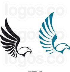 Animals For > Falcon Logo Vector