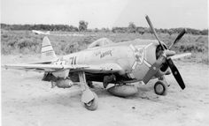 """Lil Abner"" 57th Fighter Group P47 Thunderbolt Italy 1944"