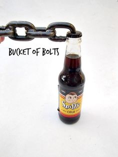 Chain Bottle Opener by BucketObolts on Etsy