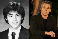Matt LeBlanc looked like Peter Brady when he was young.