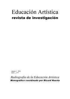 eari. educación artística. revista de investigación núm 1/2003  Radiografía de la Educación Artística