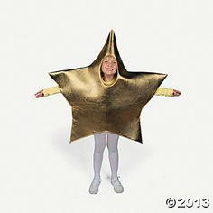 """I am like a star shining brightly"" Child Star Costume - Oriental Trading"