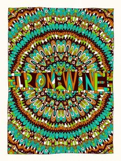 Iron and Wine exhibits consistent poster/album art awesomeness
