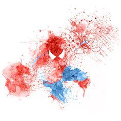 Cool Spider-Man, Hulk and Wolverine Splash Art - News - GeekTyrant