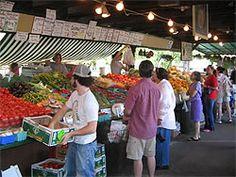 The Farmer's Market in Kirkwood.  Open April-September.