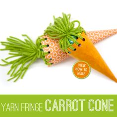 DIY carrot cone wrapping idea cute way to give little bags of eggs to kids at easter egg hunt or party or for small presents to friends and family Easter Party, Easter Gift, Easter Crafts, Crafts For Kids, Spring Crafts, Holiday Crafts, Holiday Fun, Easter Activities, Hoppy Easter