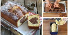 Rezept für Vanille-Rührkuchen mit Schokoherz aus Kakaorührteig und Vanille-Rührteig mit Sahne :) - http://www.heimgourmet.com/artikel-slideshow-2336-2-rezept-fur-vanille-ruhrkuchen-mit-schokoherz.htm#anchor