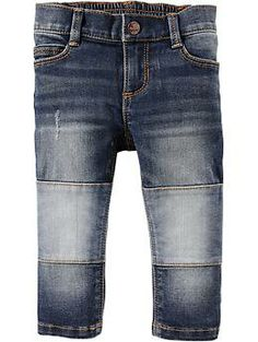 Knee-Patch Super Skinny Jeans for Baby   Old Navy