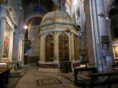 Interior de la #Catedral de #Lucca. #EuropeosViajeros #Italia #Italy #Europe #Europa #Travel #Viaje #Turismo #Tourism #Toscana #Tuscany #cathedral