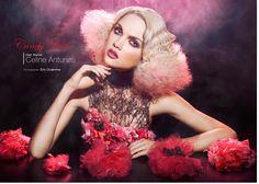 Candy Rose  Hairdresser : Celine Antunes  Schwarzkopf Professional Ambassador Assisted : Yoel Georges Photographer : Eric Ouaknine http://www.ericouaknine.com/ Styllist : Laura De Villebonne Salon : 52Eme Avenue Make Up : Stephane Dussart Models : Sergent Camille and Eva Biechy #mostmag http://online.pubhtml5.com/dvie/ynee/#p=182-183