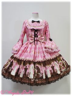 lolita, chocolate chess, I think it's an angelic pretty print...