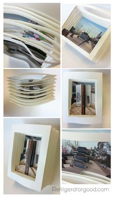 Why is this the coolest thing ever? I want to make some of these! >>>>> Books // Digital Photography Lesson