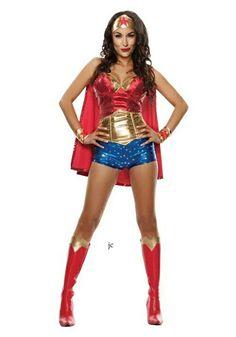 Brie Bella as Wonder Woman