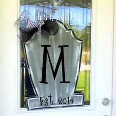 Spooky Headstone NEW for HALLOWEEN 2014 - Wooden Door Hanger - Holiday Decor, Spooky, RIP, Gravestone, Halloween Decor
