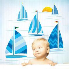 Sailboats Decals