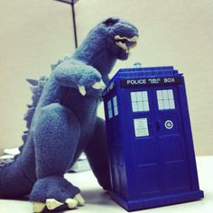 The Doctor and Godzilla