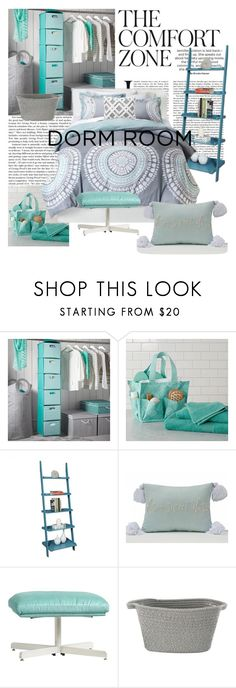 """""""The Comfort Zone"""" by joyfulnoise1052 ❤ liked on Polyvore featuring interior, interiors, interior design, home, home decor, interior decorating, PBteen, Convenience Concepts, Simple by Design and dormdecor"""