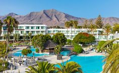 Vista panorámica Lanzarote H10 Princess #Canarias @H10 Hotels