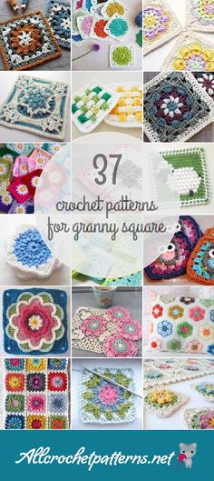 Allcrochetpatterns.net has the largest collection of free and premium Granny Square crochet patterns. Click now and discover wonderful crochet patterns! Page 3 of results.