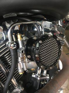 Air filter for S&S Super E on Harley Davidson Sportster 1200 Harley Davidson Sportster 1200, Sportster 883, Air Filter, Old School