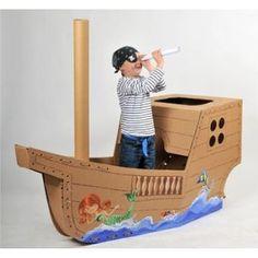 Begehbares Piratenschiff - Pirates