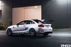 #BMW #F87 #M2 #Coupe #MPerformance #iND #Tuning #AlpineWhite #Angel #Provocative #Eyes #Sexy #Freedom #Badass #Burn #Live #Life #Love #Follow #Your #Heart #BMWLife