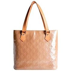 Louis Vuitton Monogram Vernis Houston Tote | Louis Vuitton Handbags - Bag Borrow or Steal