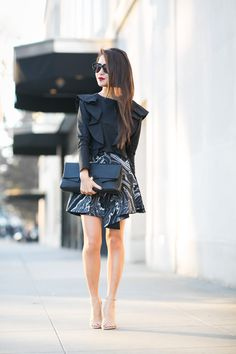 LA Winter :: Oversized ruffles