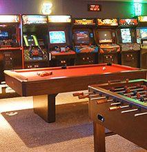 Retro 80's Arcade room!