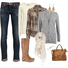 Layer Up, created by jill-hammel on Polyvore