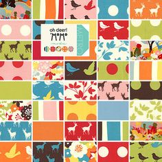 Just relisted! Oh Deer! Charm packs by MoMo for Moda Fabrics @$13.50